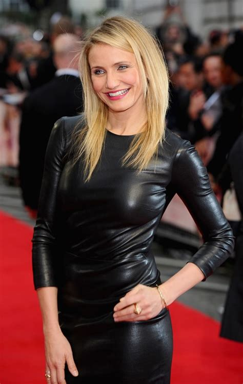 cameron diaz hair cut inthe other cameron diaz at london premiereof the other woman lainey