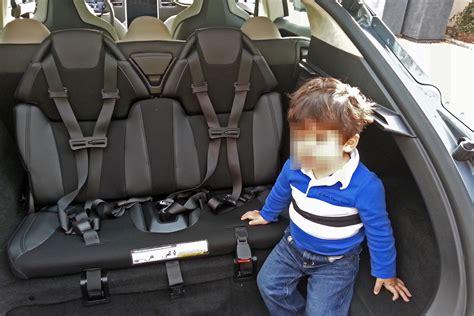 Tesla Back Seats Tesla Model S Interior 7 Seats Newhairstylesformen2014