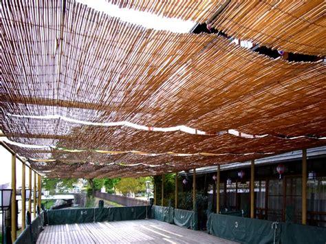 bamboo shades landscaping gardening ideas