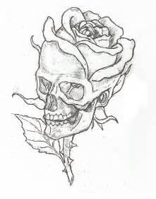 skull rose by epickickboxer d5o0axr jpg 793 215 1008