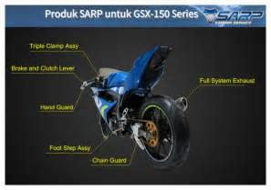 Programmable Ecu Racing Sarp Gsx R150 sarp cobra untuk gsx r150 gerakan suzuki bikin cekot cekot mario devan s