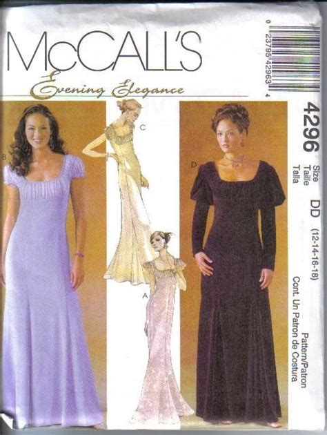 dress pattern evening wear mccalls formal evening wear dress sewing pattern cocktail