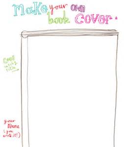 Childrens Book Templates by Best Photos Of Blank Book Cover Template For Blank