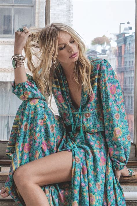 Blouse Town folk town blouse turquoise spell the