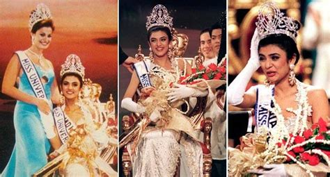 sushmita sen miss universe sushmita sen became first indian miss universe on this day