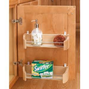 Cabinet Door Organizer Cabinet Organizers Wooden Door Storage Trays In 11 14