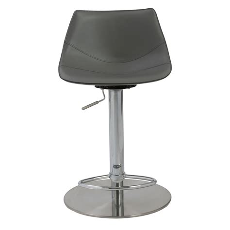 Black Bar Stool Chairs Arlo Adjustable Bar Counter Stool Zuri Furniture
