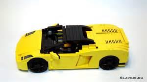 Lego Lamborghini Gallardo Lamborghini Gallardo Spyder Lego Style