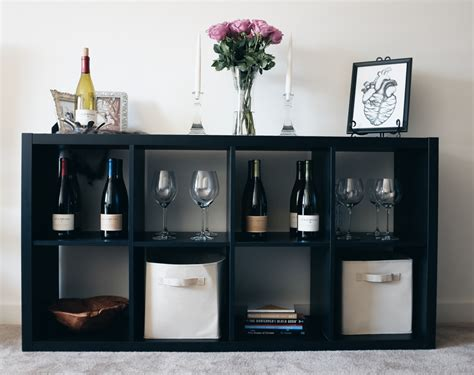 kallax wine rack apartment life and a wine bar freckled italian