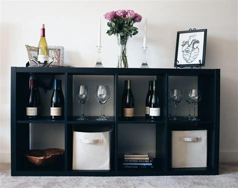 kallax wine rack apartment life and a wine bar freckled italian