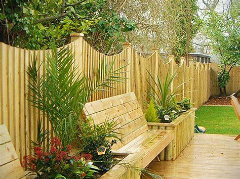 Ideas For Decorative Garden Fence Triyae Landscaping Ideas For Backyard Fences Various Design Inspiration For Backyard