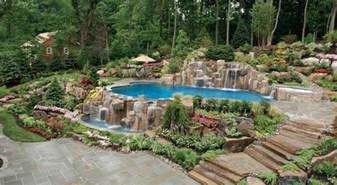 garden pool ideas delightful backyard garden ideas inside likable best