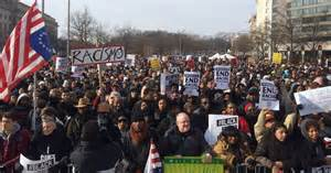 Protest Today Justice For All Millions March Draw Tens Of Thousands