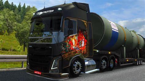 game modding euro truck simulator 1 ets2 volvo fh16 tuning 1 22 simulator modification site