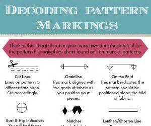 Home Decor Line understanding pattern markings the sewing loft