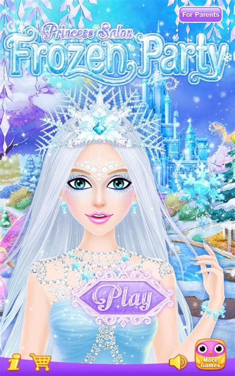 princess salon frozen android apps on play