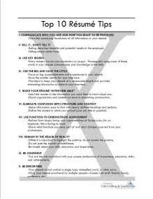 Resume Builder Tips by Resume Tips Resume Cv