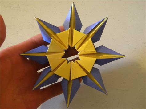 How To Make A Origami Sun - origami sun