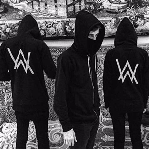 alan walker upper alan walker アラン ウォーカー パーカー faded 演出服 l 黒の通販 by for you