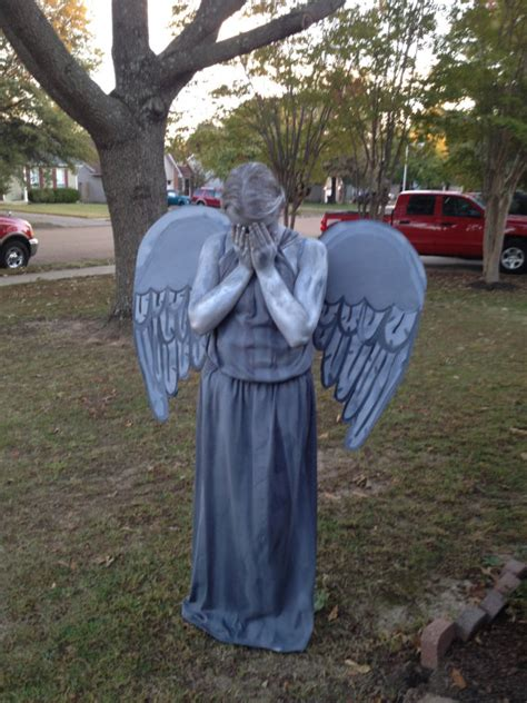 Dr Original Handmade doctor who weeping statue costume handmade by