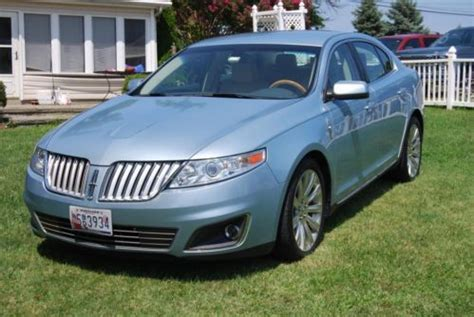 sell used 2009 lincoln mks awd excellent condition no reserve in essex maryland united states
