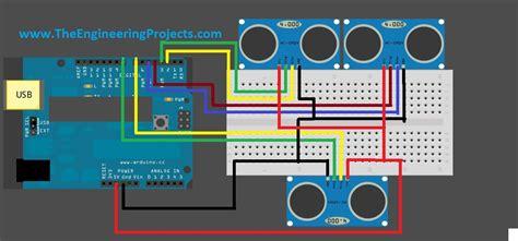 arduino code for ultrasonic sensor interfacing of multiple ultrasonic sensor with arduino