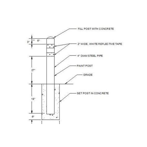 Handrail Wall Bracket Bollard Cad Detail Dwg Cadblocksfree Cad Blocks Free
