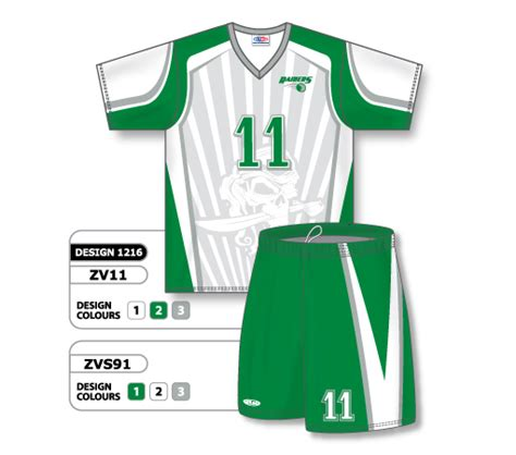 best jersey design volleyball custom volleyball sublimated jersey shorts design 1216
