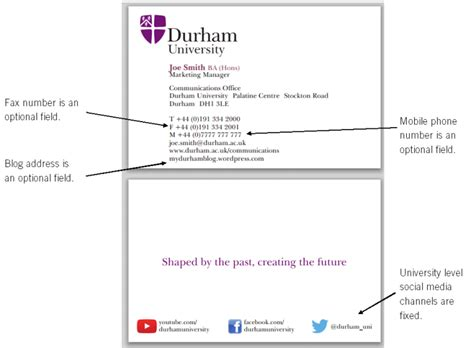 Template Business Card New Address by Communications Office Ordering Durham Branded