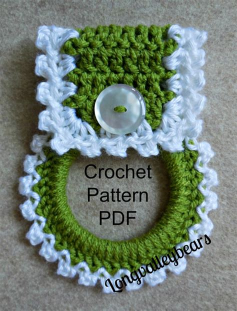 crochet pattern kitchen towel topper this listing is for the pattern only instant download