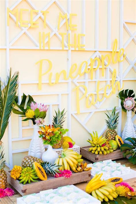 tropical themes 17 tropical themed bridal shower ideas weddingomania