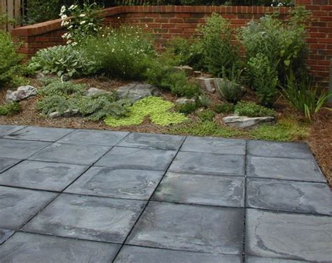 large concrete pavers for patio 25 best ideas about slate pavers on