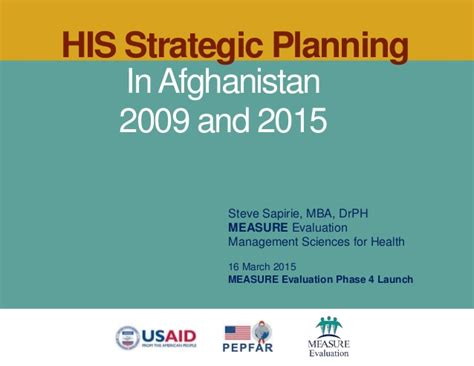 Mba Strategic Planning And Management by His Strategic Planning In Afghanistan 2009 And 2015
