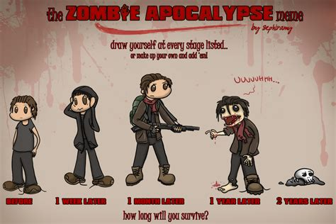 Zombie Apocalypse Meme - zombie apocalypse meme obm by oggey boggey man memes