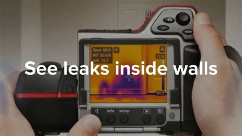 Plumbing Leak Detection Tools by The Pros And Cons Of Infrared Cameras More Floods