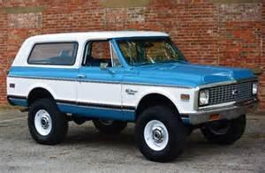 1972 chevrolet k5 blazer restomod