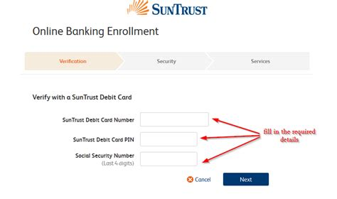 suntrust bank banking sign up suntrust bank banking login login bank