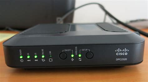 Router Wifi Cisco Dpc2320 berpindah dari speedy ke media one s