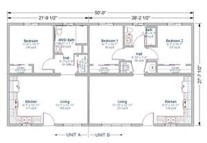 2 Bedroom 1 Bath Duplex Floor Plans by 1000 Sq Ft Duplex Joy Studio Design Gallery Best Design