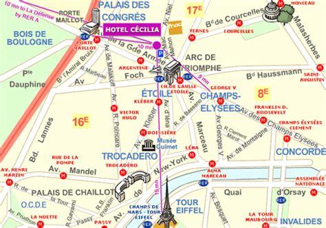 porte maillot metro map hotel cecilia avenue mac mahon 75017 par 237 s metro