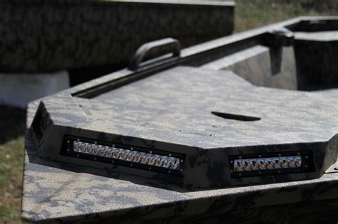 Led Light Bar Housing Edge Duck Boats