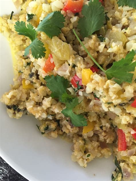 Rice Mba Course Catalog by My As Robin S Cheesy Confetti Cauliflower Rice