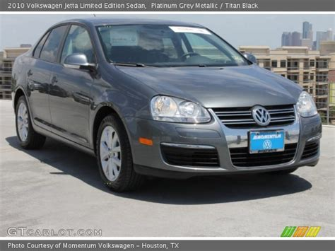 2010 Volkswagen Jetta Limited Edition by Platinum Grey Metallic 2010 Volkswagen Jetta Limited