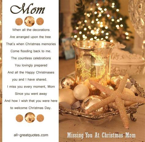 christmas  heaven cards mom  heaven mom     mom