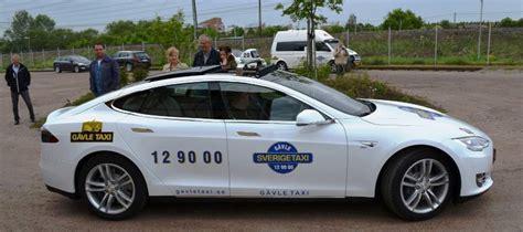 Tesla Taxi Framtidens Taxibil Tesla Club Sweden