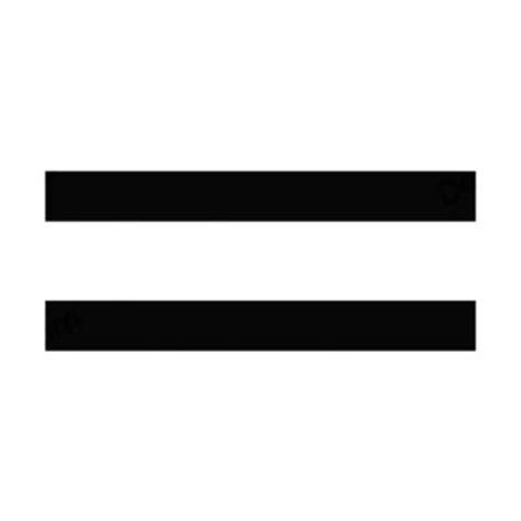 Equal Sign Sticker