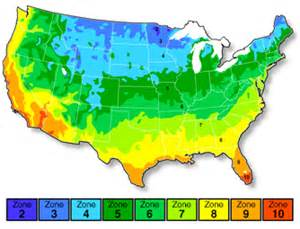 usda hardiness zones california zip code