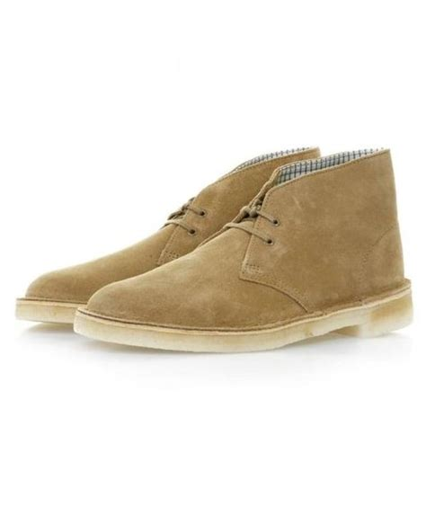 clarks desert boot oakwood suede boots 11826 for lyst