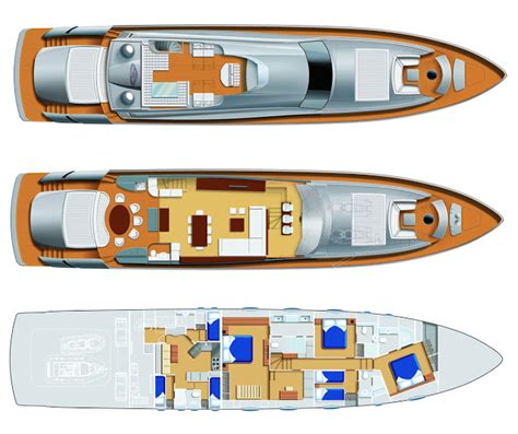 yacht tv layout new pershing superyacht loaded with italian luxury from