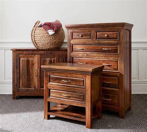 Pottery Barn Wide Dresser by Bowry Reclaimed Wood Wide Dresser Pottery Barn